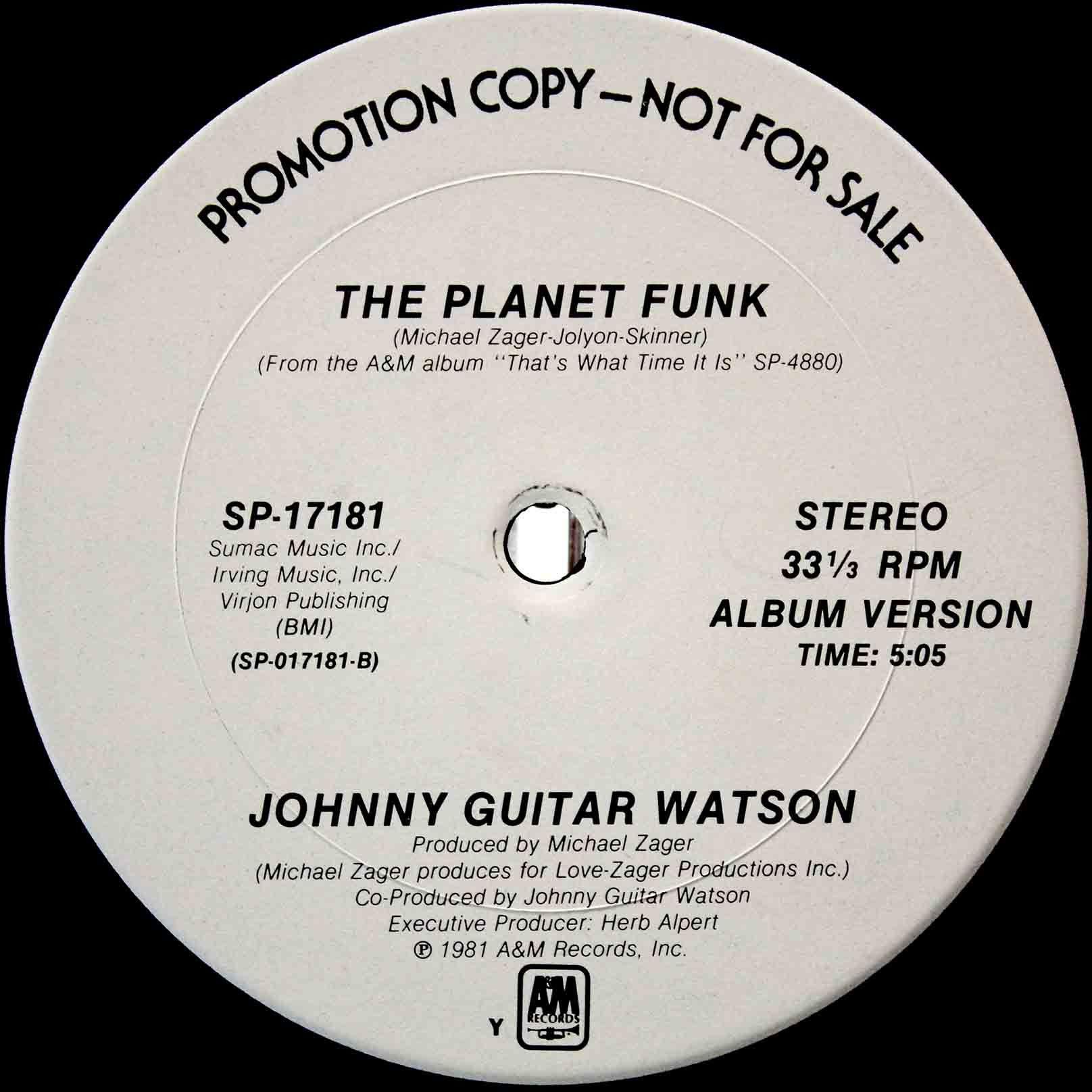 Johnny Guitar Watson – The Planet Funk 03