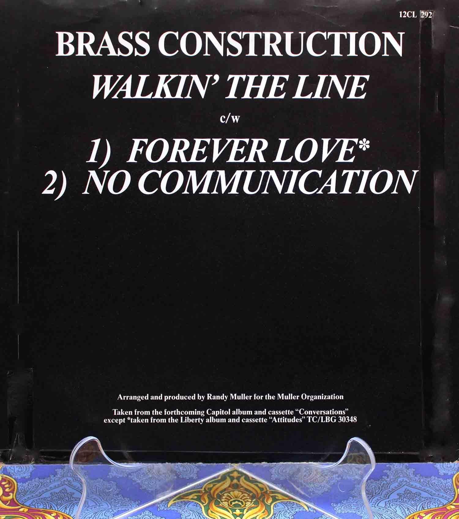 Brass Construction – Walkin The Line 02