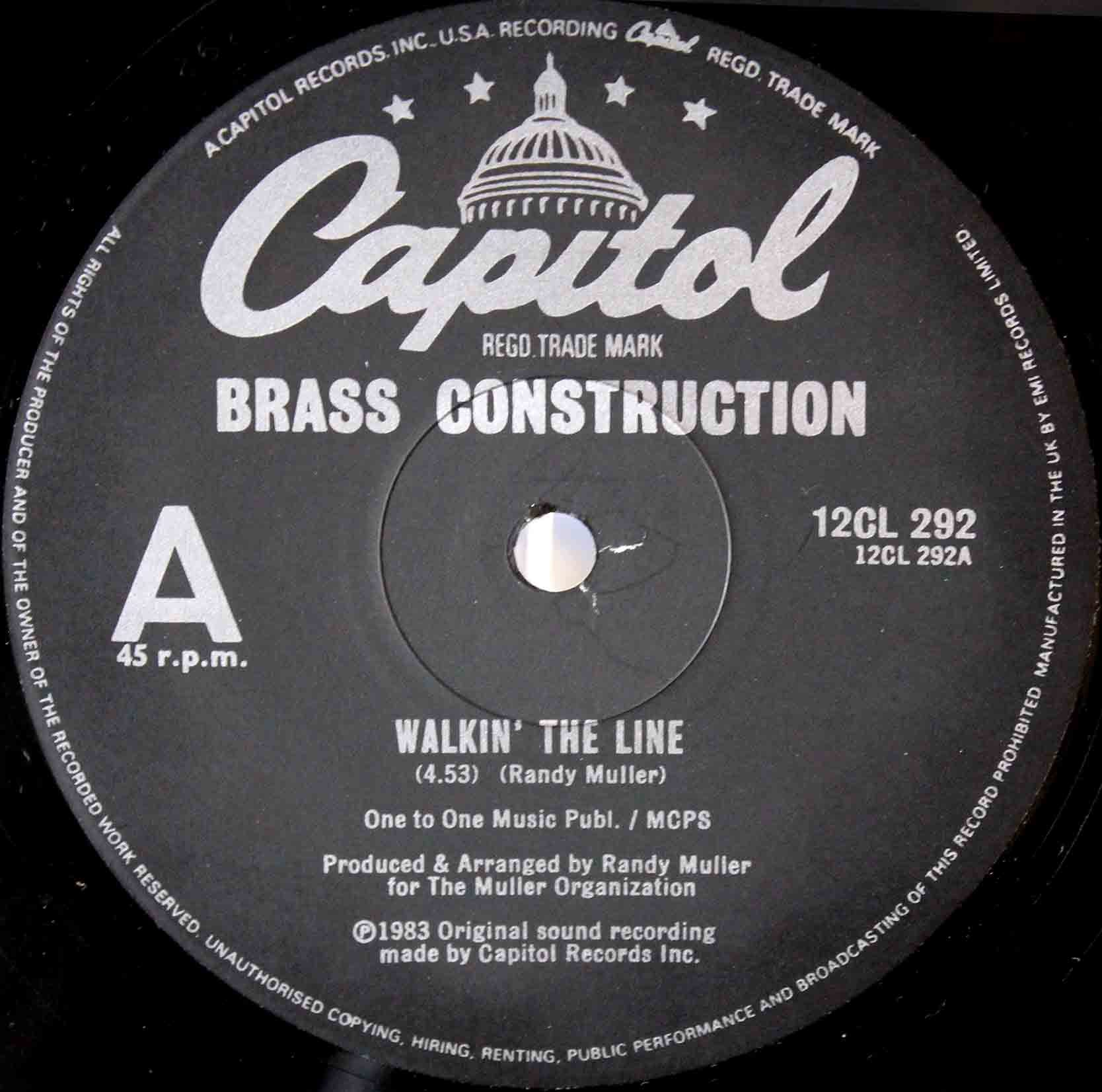 Brass Construction – Walkin The Line 03