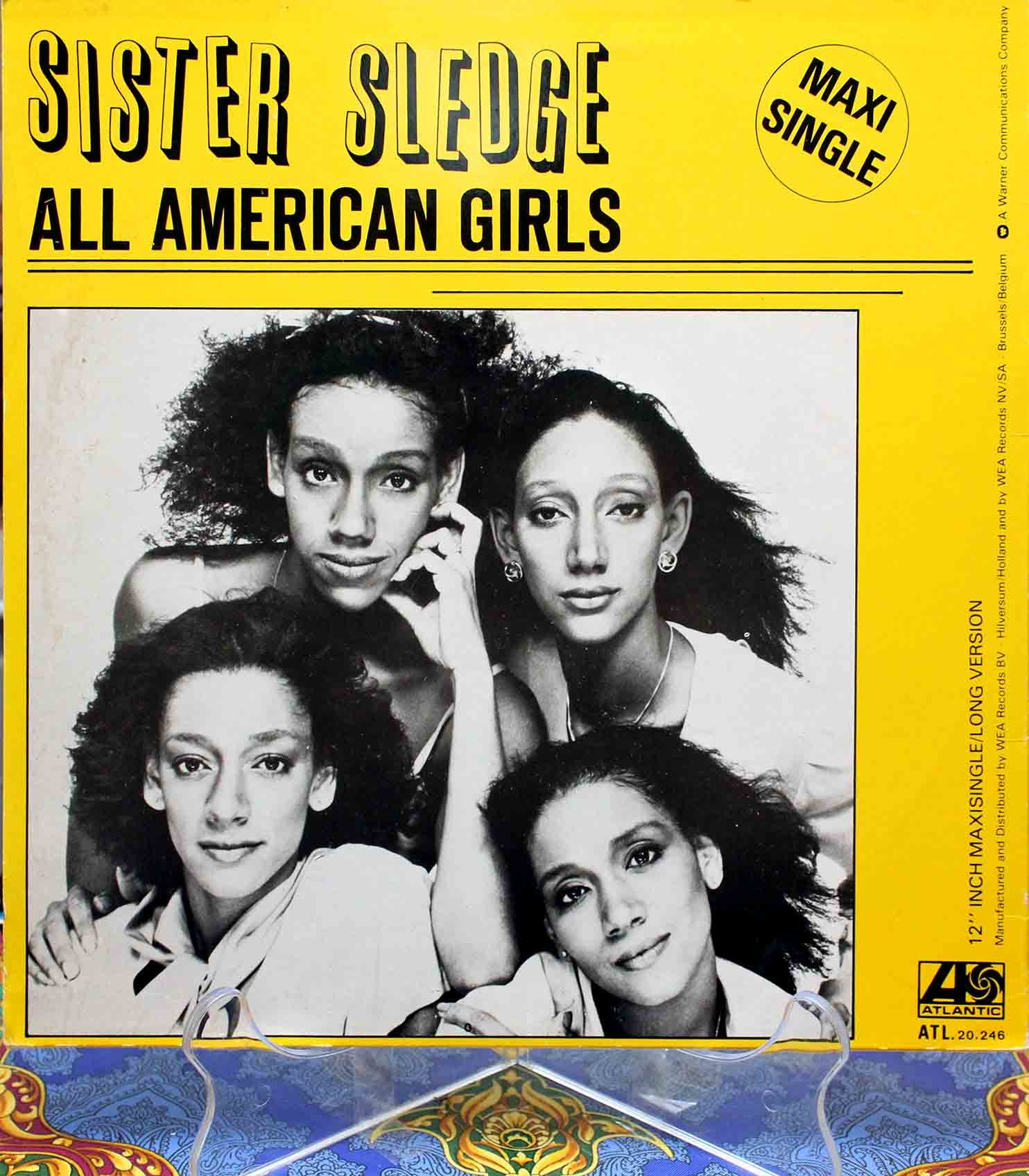 Sister Sledge ‎– All American Girls 01