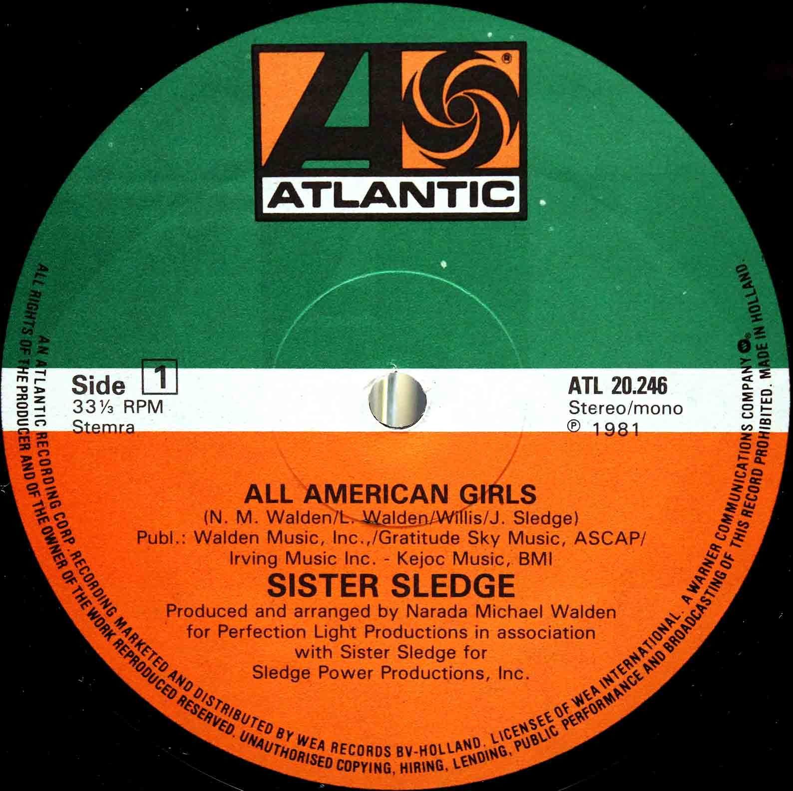 Sister Sledge – All American Girls 02