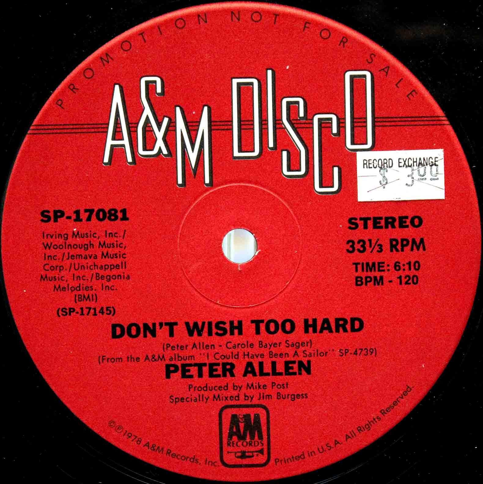 Peter Allen - Dont wish too hard 04