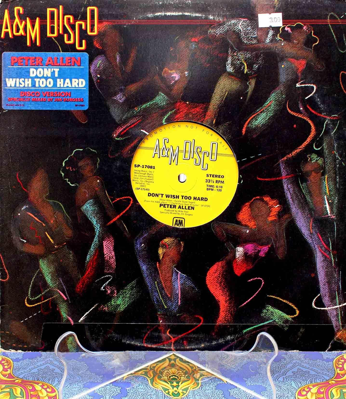 Peter Allen - Dont wish too hard 01
