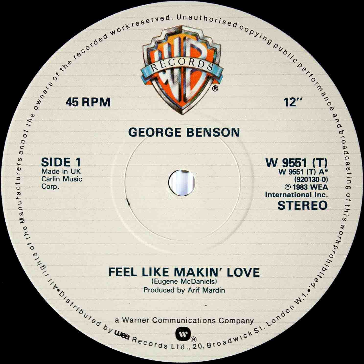 George Benson – Feel Like Makin Love 03