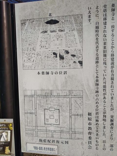 本薬師寺跡2020
