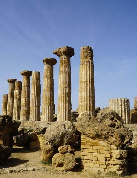 120191115 アグリジェンド  Tempio di Ercole ヘラクレス神殿 16㎝ _DSC7219