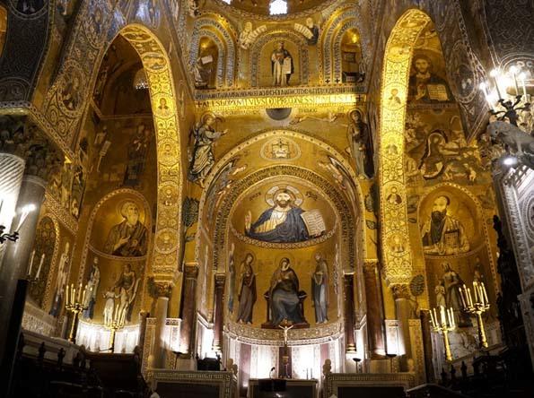 420191116 パレルモ パラチーナ礼拝堂 14C 21㎝_DSC7292
