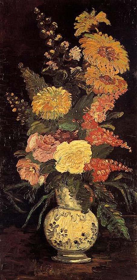 20200112 ゴッホ展 花瓶の花 1886 16㎝