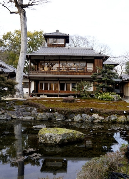 20200207 三井家下賀茂別荘 15㎝ _DSC0646