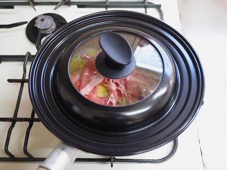 白菜と豚肉のミルク煮込み麺022