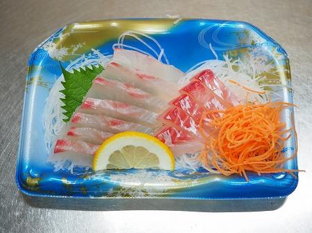 鯛の刺身の辛子明太子和え021