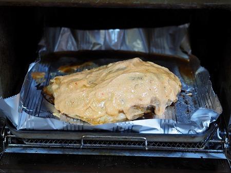 鶏むね肉の明太マヨ焼き049