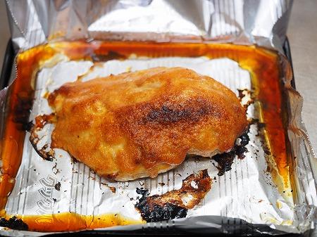 鶏むね肉の明太マヨ焼き056