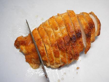 鶏むね肉の明太マヨ焼き059