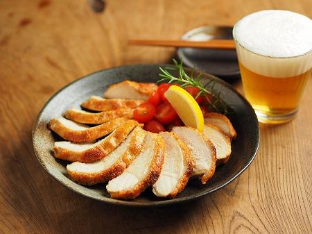 鶏むね肉の明太マヨ焼き018