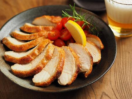 鶏むね肉の明太マヨ焼き004