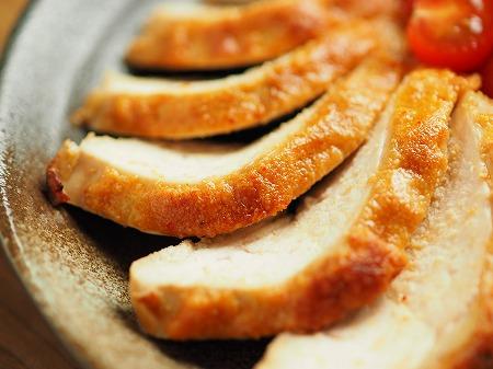 鶏むね肉の明太マヨ焼き025