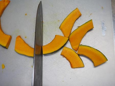 かぼちゃと豚の生姜焼き作り002