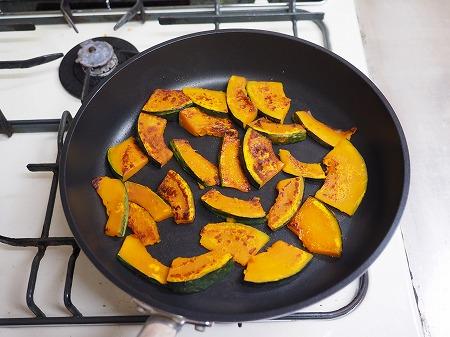 かぼちゃと豚の生姜焼き作り013