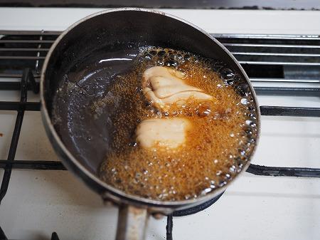 ヒゲソリダイ白子煮付け023