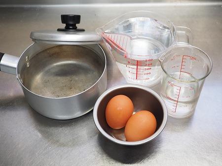 温泉卵、さば納豆温玉丼026