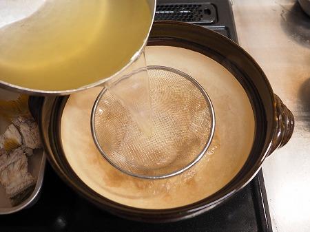ヨコスジフエダイのちり鍋056