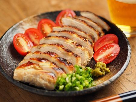 鶏むね肉のぽん酢漬けフライン012