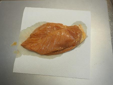 鶏むね肉のぽん酢漬けフライン025