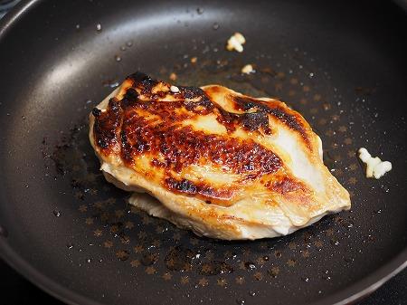 鶏むね肉のぽん酢漬けフライン030