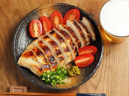 鶏むね肉のぽん酢漬けフライン009