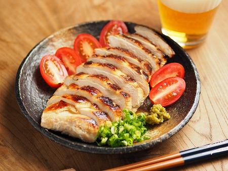 鶏むね肉のぽん酢漬けフライン005
