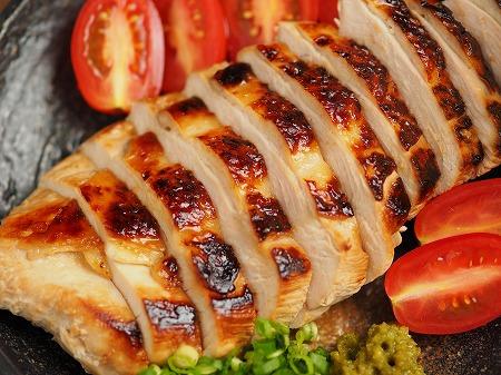 鶏むね肉のぽん酢漬けフライン015