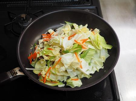 野菜炒めラーメン034