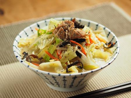 野菜炒めラーメン015