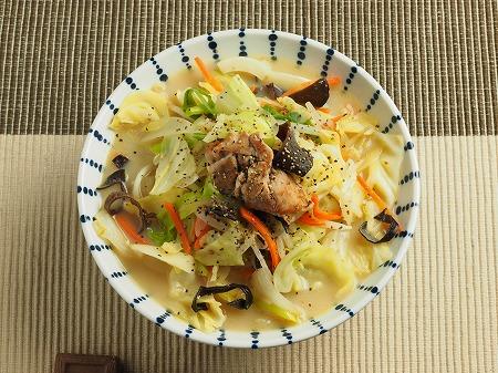 野菜炒めラーメン016
