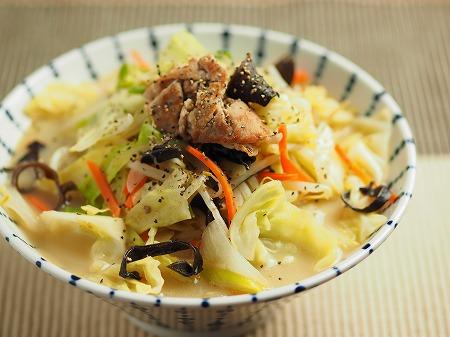 野菜炒めラーメン010