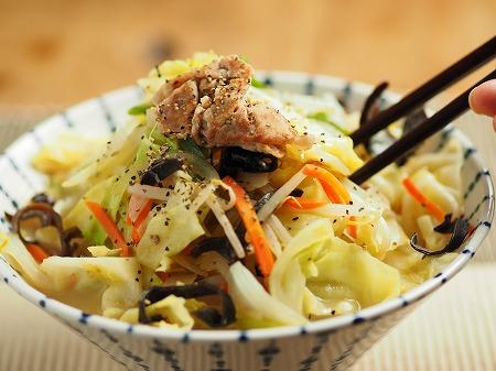 野菜炒めラーメン018