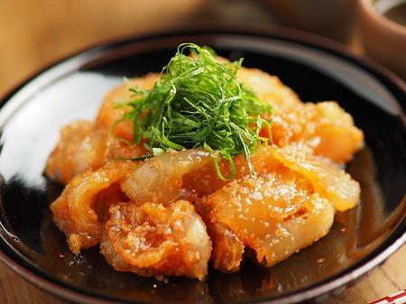 平目刺身の辛子明太漬け024