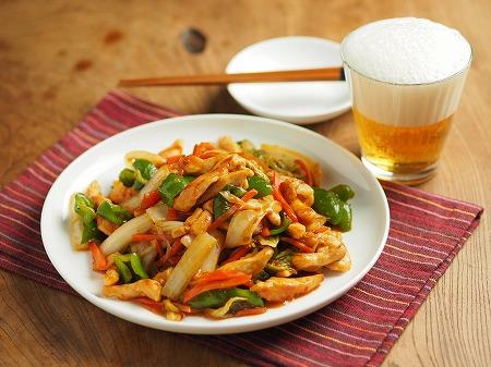 白菜と鶏むね肉のピリ辛オイス008