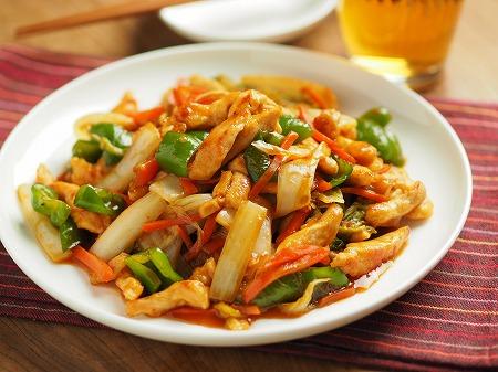 白菜と鶏むね肉のピリ辛オイス031