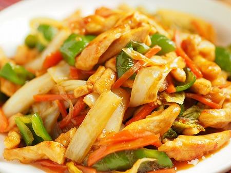白菜と鶏むね肉のピリ辛オイス022