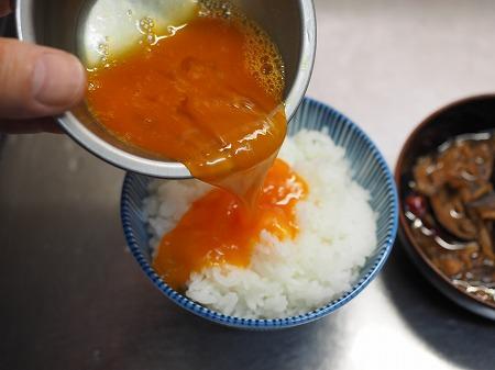 かしわ煮卵かけご飯011