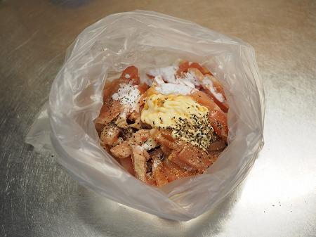 鶏むね肉のネギマヨ炒め029