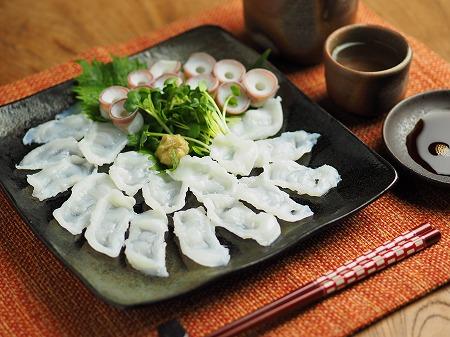 生蛸の刺身、吸盤の湯引き004