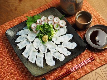 生蛸の刺身、吸盤の湯引き001