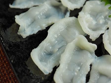 生蛸の刺身、吸盤の湯引き016