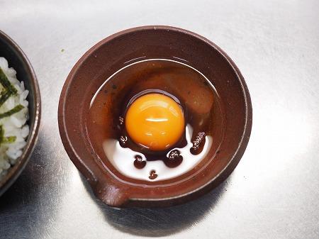 平目明太漬け卵かけご飯018
