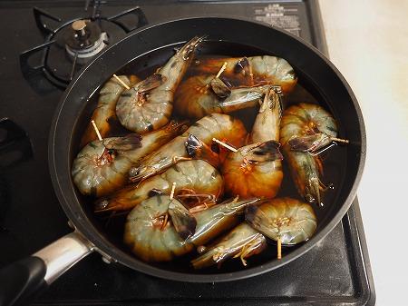 フライパンえびのつや煮041