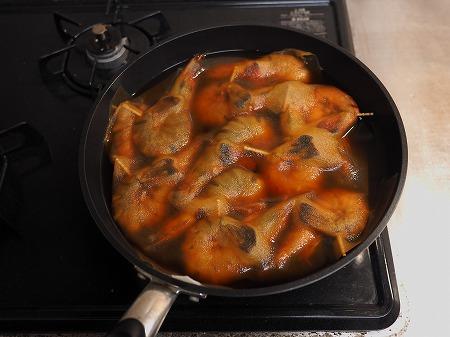 フライパンえびのつや煮045