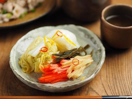 白菜のゆず焼酎漬け006